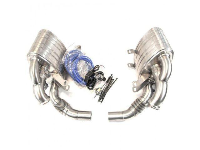 993 Turbo Sportauspuff Auspuff Schalldämpfer aus Edelstahl