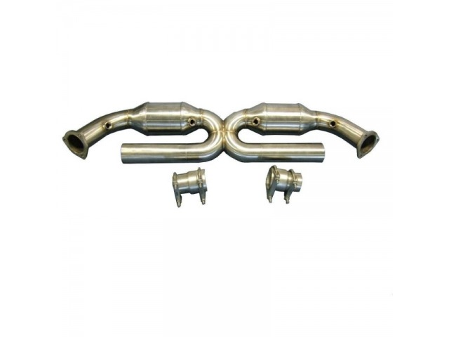 996 Porsche Carrera 200 Cell Sports Cats for OEM Exhaust