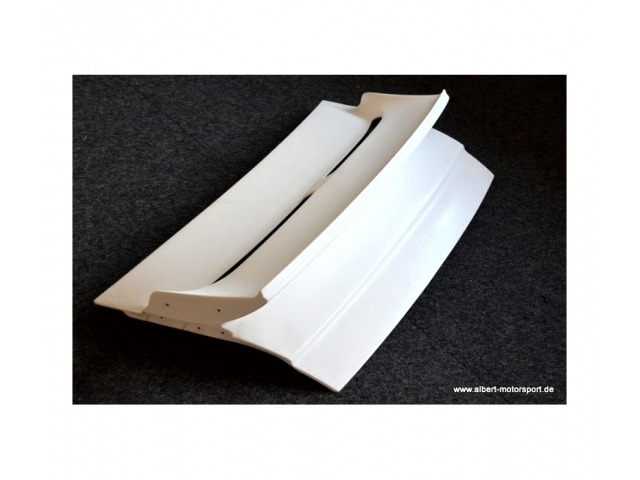 996 TT - GT2 Porsche rear spoiler - rear hood in 996 Cup optics