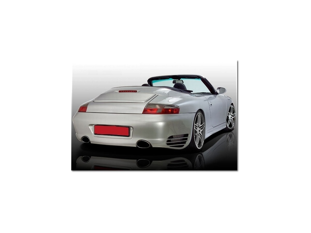 996 Turbolook bumper rear for Porsche 996 types