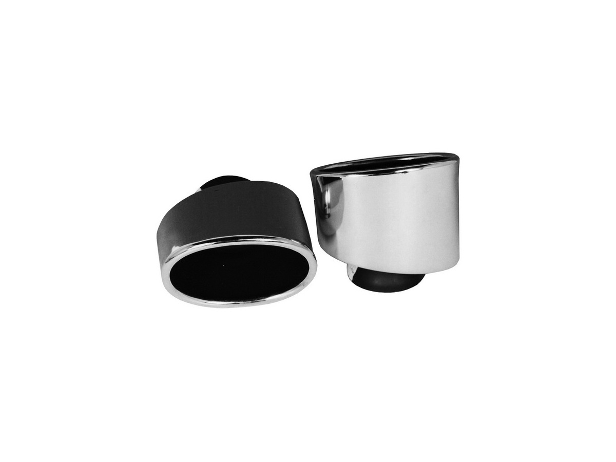 993 Turbo tailpipe set tailpipes tailpipes polished for Porsche