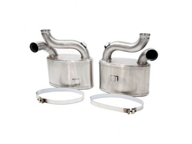 993 Turbo GT2 Porsche Sport Exhaust Exhaust Silencer made of stainless steel