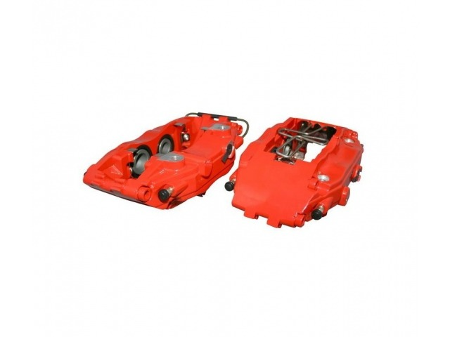 964 - 993 - 964 Porsche Turbo caliper 2 pieces red front