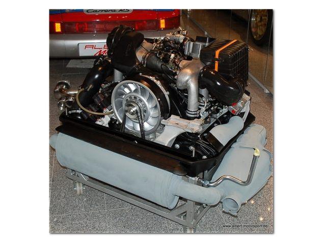 993 - GT2 - Biturbo Sportkat Dummy Set Edelstahl poliert für Porsche