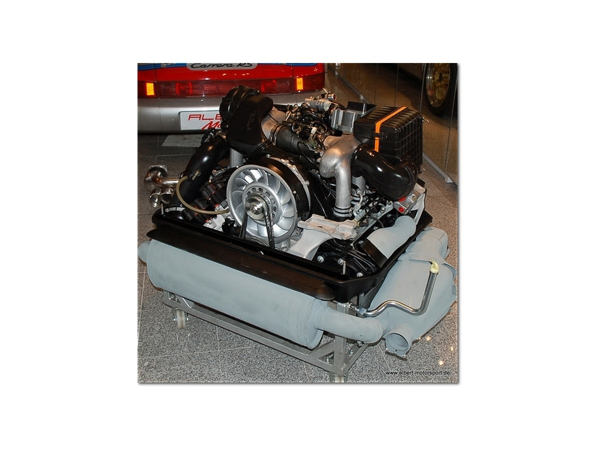964 Carrera 3,6 l. AT- Motor Austauschmotor für Porsche 911