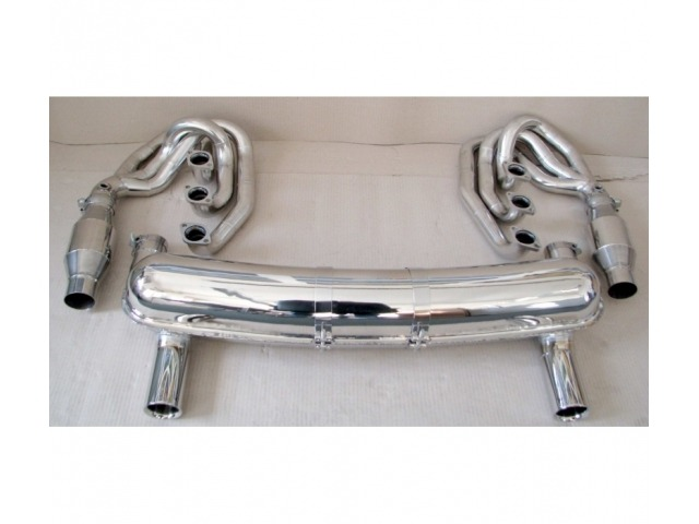 911 - 2,4 l. Sport exhaust system (Powerkit) 2 tailpipes for Porsche 911