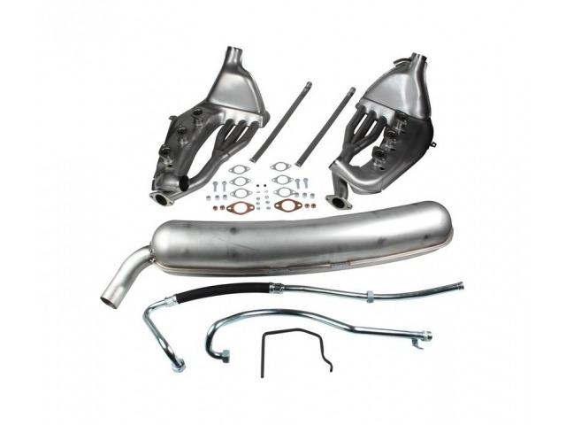 911 G Freeflow exhaust kit with 60 mm tailpipe Porsche