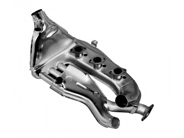 911 T - E - S heat exchanger Porsche stainless steel