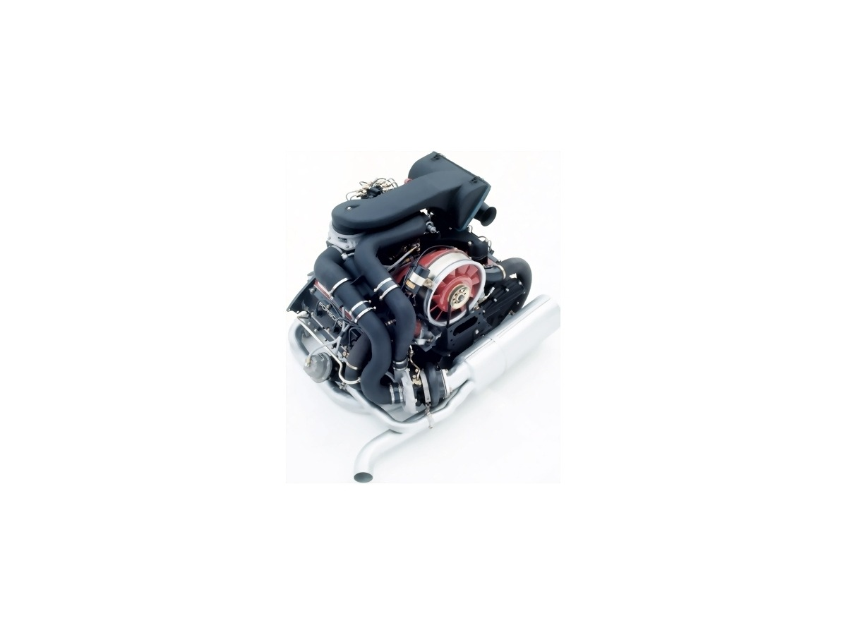 911 - 930 Turbo Motor Austauschmotor AT Motor Porsche