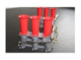 997.2 Carrera chrome finish tailpipes Stainless steel for Porsche