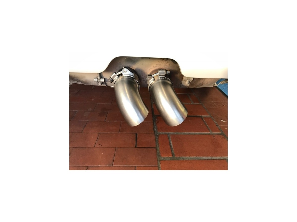 996 - 997 GT3 Cup exhaust pipe Sound derivation for racing exhaust