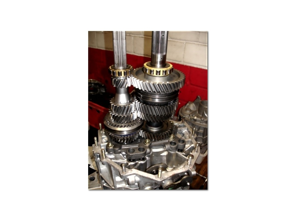 996 - 997 GT3 - GT3 RS Transmission conversion Change of final ratio and 5th and 6th gear