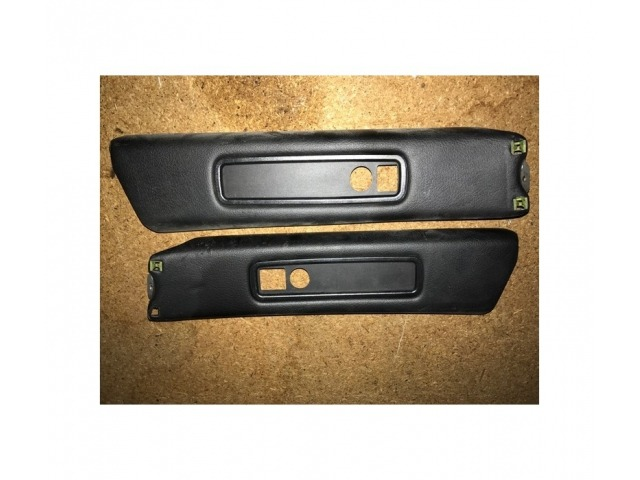996 GT3 Cover B - Pillar leather black Porsche