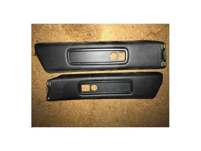 996 GT3 Cover B - Pillar leather black Porsche