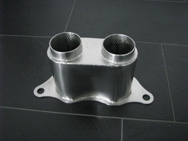 997 - 991 GT3 Cup tailpipe silencer straight for Porsche racing cars