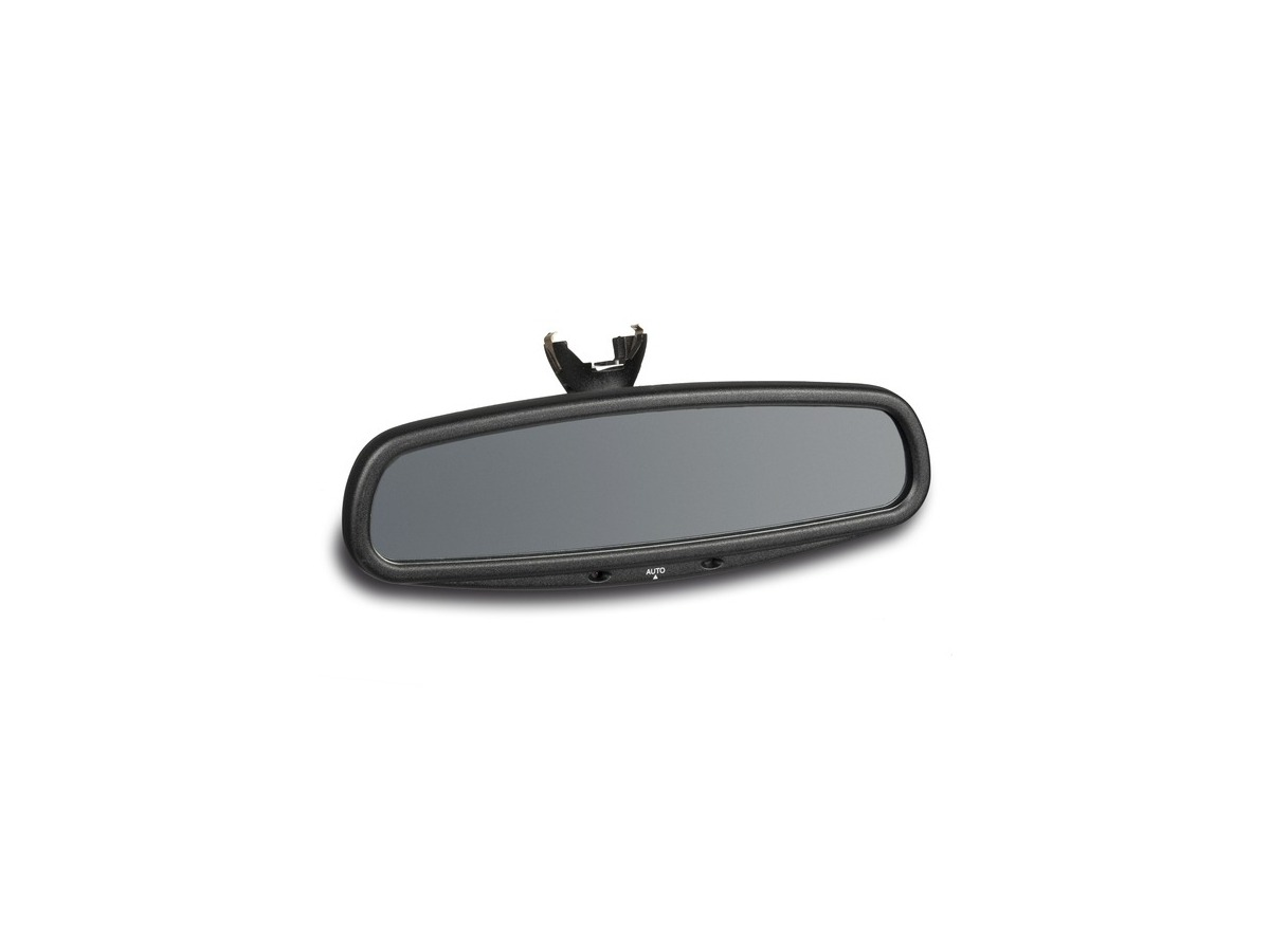 986 - 996 from 2001 Interior mirror satin black for Porsche