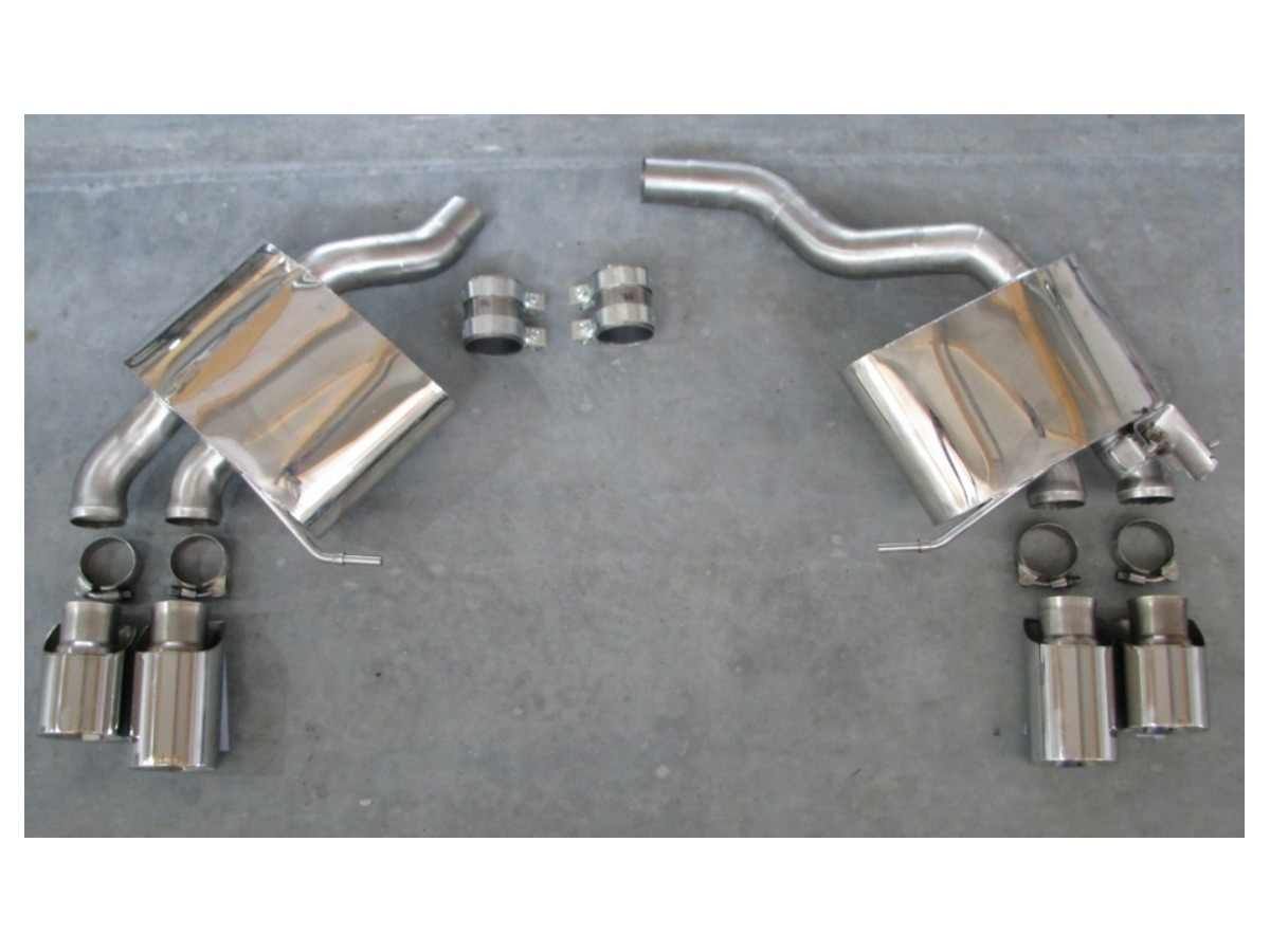Macan Turbo damper sports exhaust for Porsche type 95B