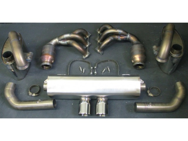 991 GT3 Power Exhaust System Stainless Steel for Porsche 911