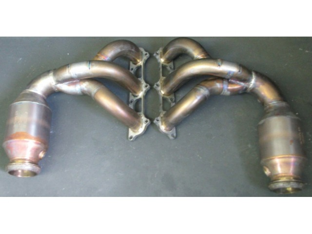 991 GT3 exhaust manifold stainless steel for Porsche 911