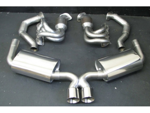 981Power Kit sports exhaust stainless steel Porsche Boxster Cayman