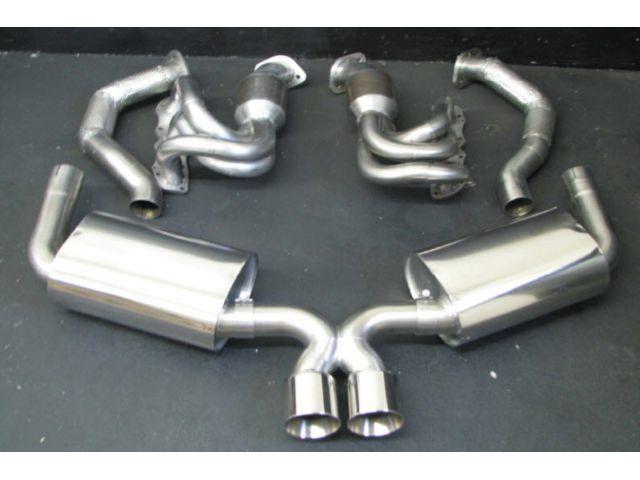 981Power Kit sports exhaust stainless steel Porsche Boxster Cayman