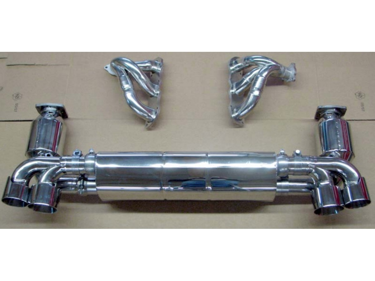 997.2 Turbo Power Kit Auspuffanlage aus Edelstahl für Porsche 911