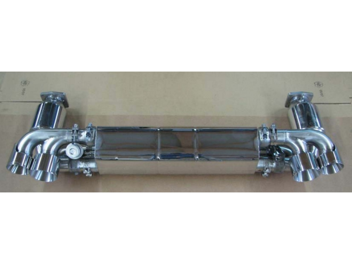 997.2 Turbo damper system Exhaust made of stainless steel for Porsche 911