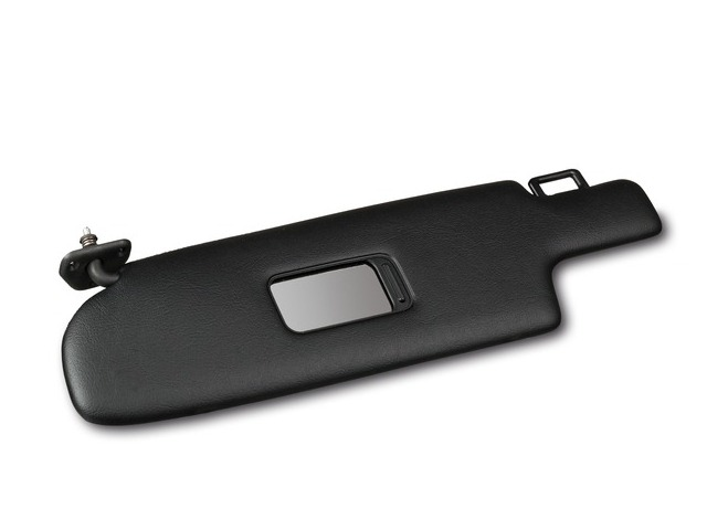 928 Sun visor imitation leather black left for Porsche