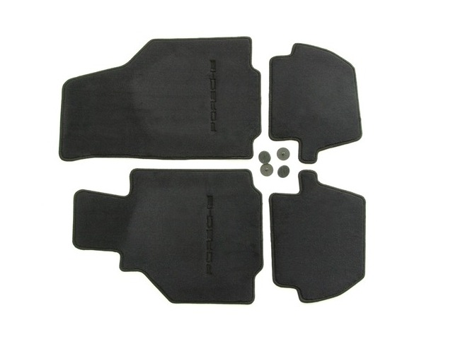 996 floor mats in black for left-hand drive vehicles for Porsche 911