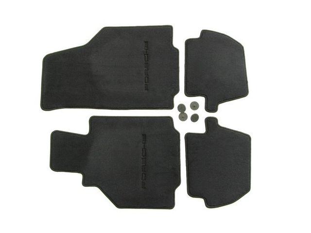 996 Fußmatten in schwarz für Linkslenker für Porsche 911