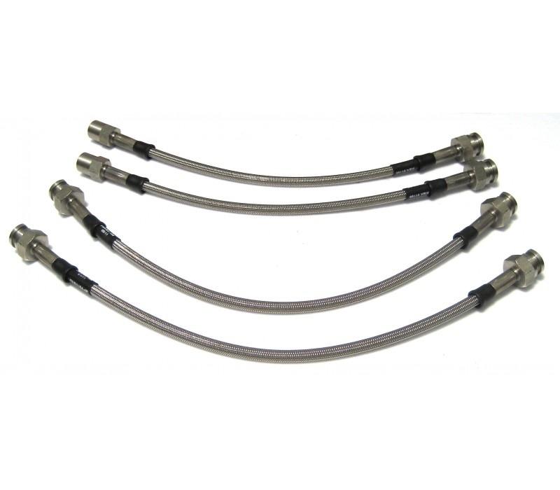 stahlflex bremsleitungen mit edelstahl anschl u00fcssen f u00fcr porsche
