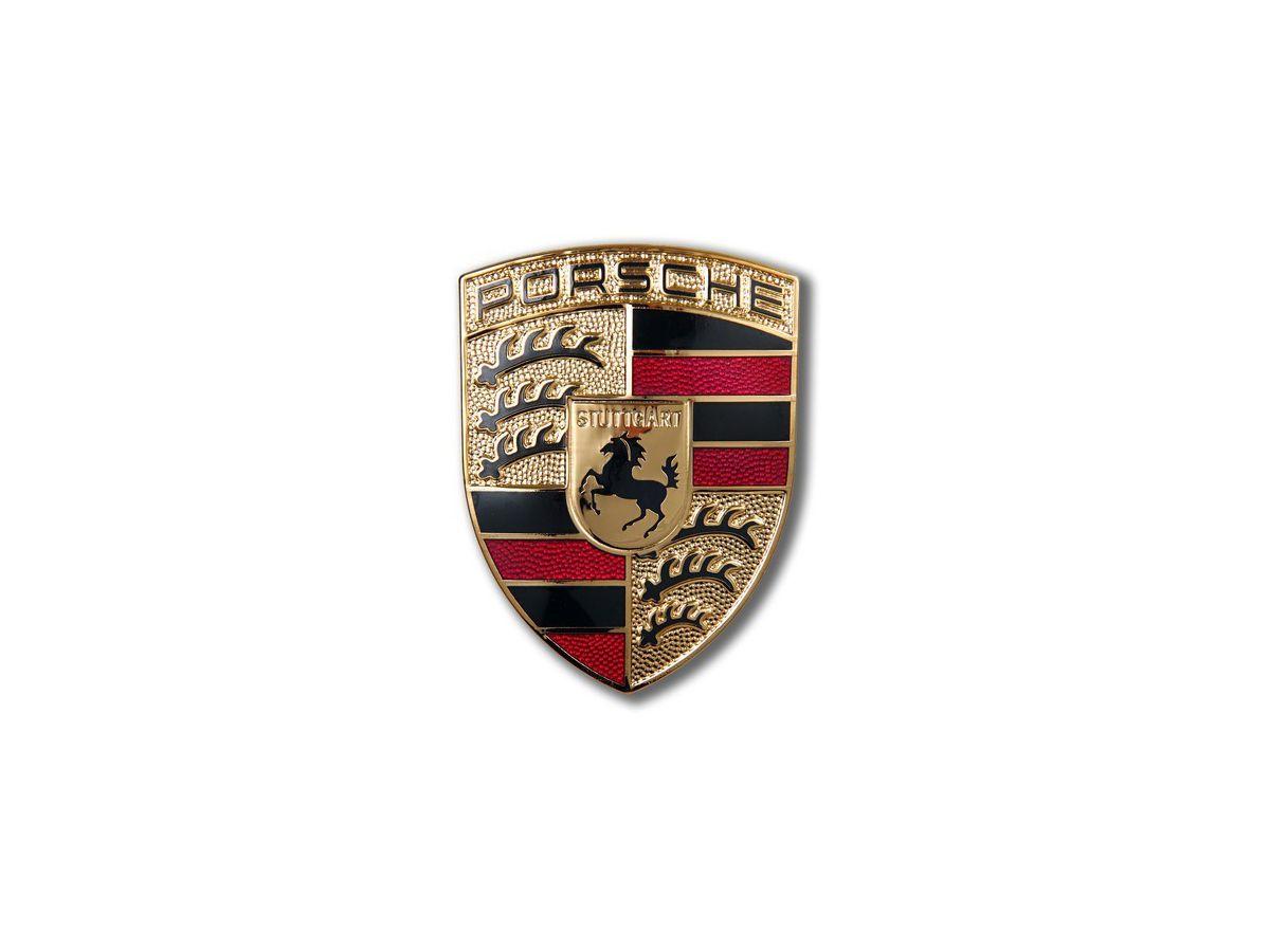 993 - 986 - 996 Deckelwappen für Porsche