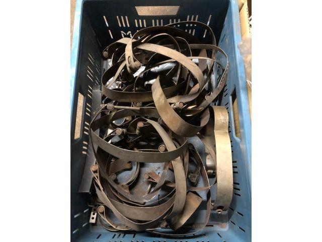 911 - 964 - 993 - 996 - 997 Haltebänder Auspuff Porsche ( 2 Stück )