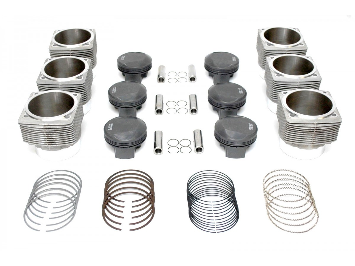 911 Carrera 3.4 liter piston and cylinder upgrade kit Porsche