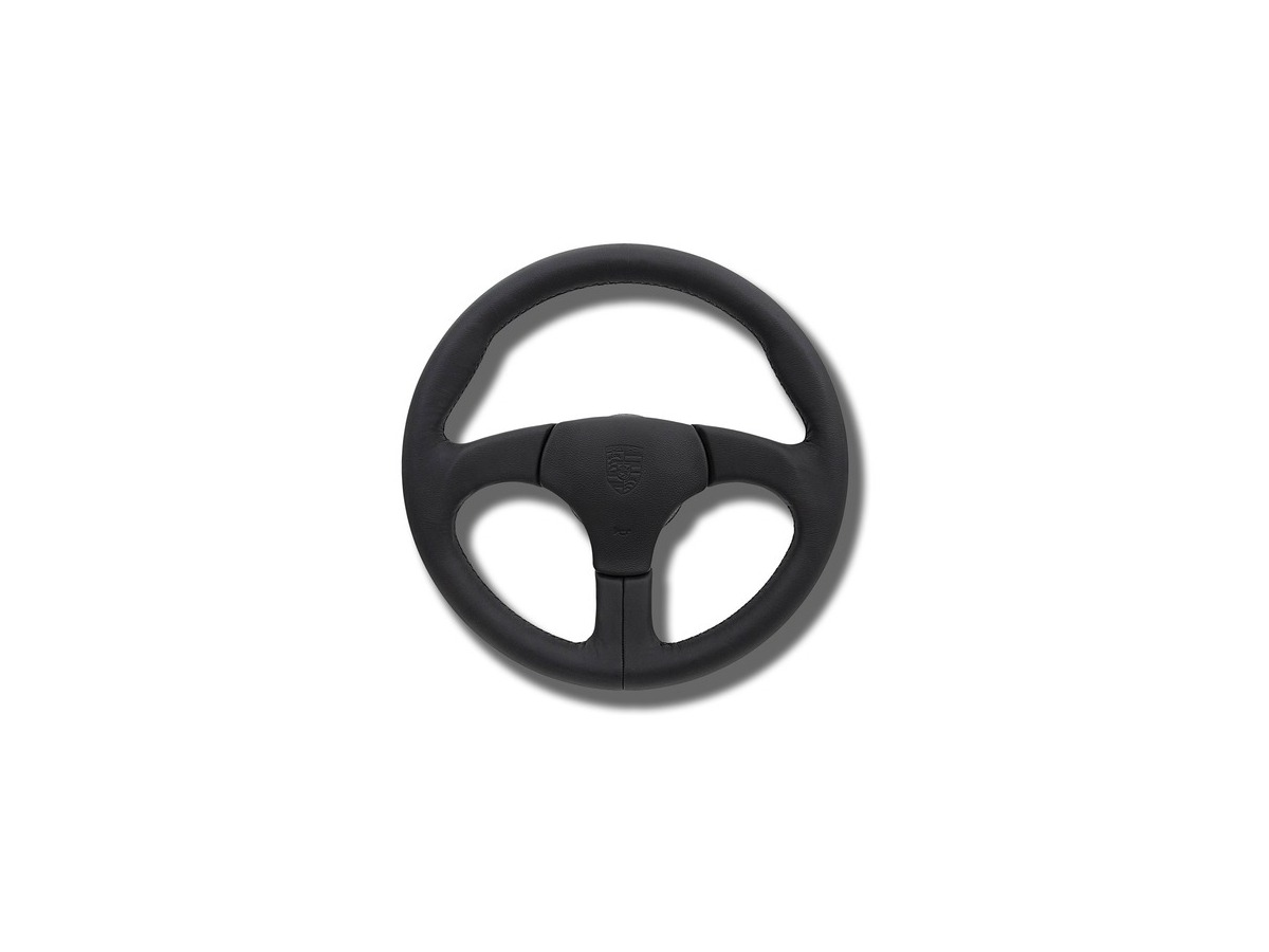 944 - 964 - 968 CS Sport steering wheel without airbag in black for Porsche
