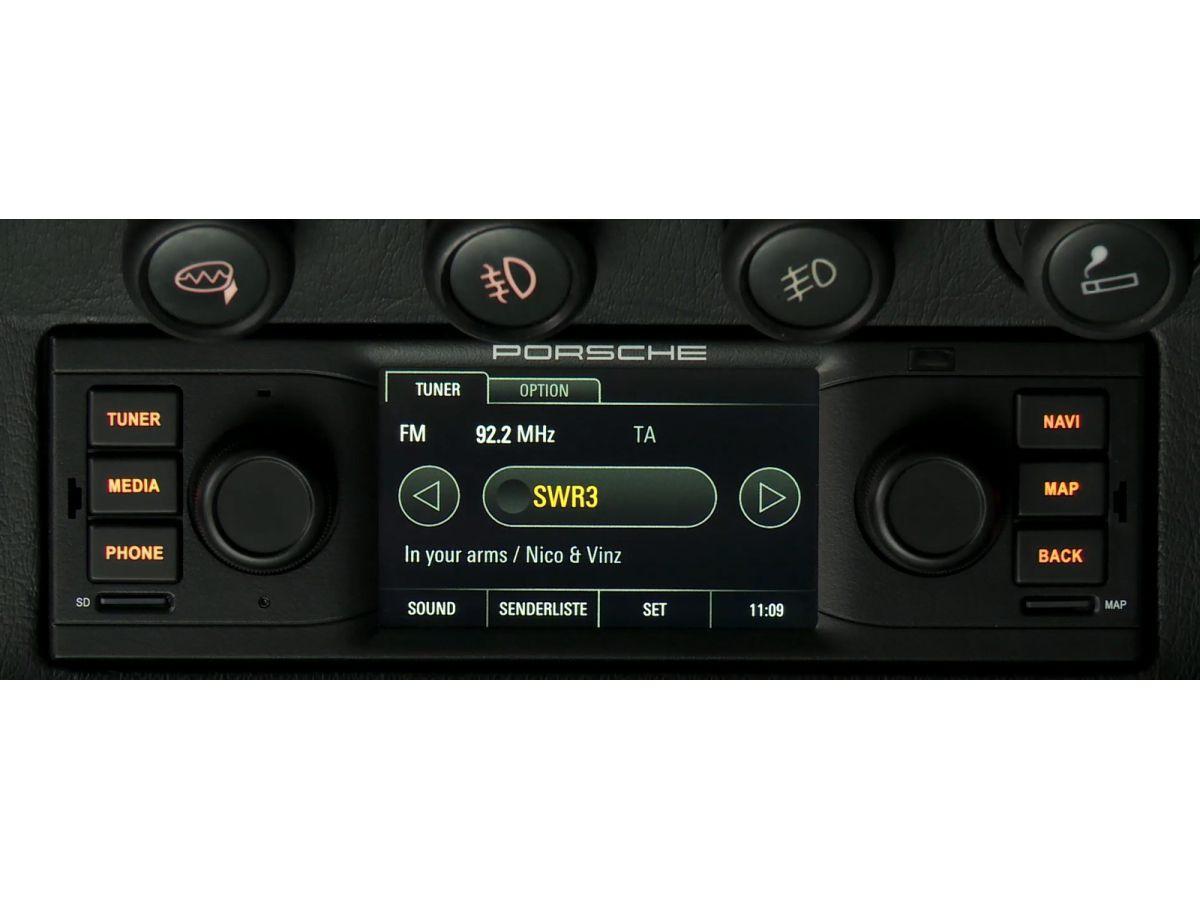 Porsche Classic Radio-Navigationssystem für alle Modelle mit DIN-1-Schacht