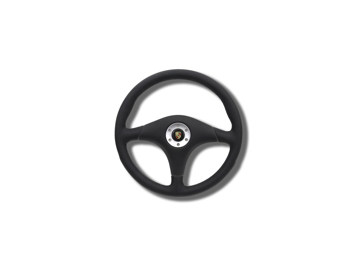 993 Carrera RS sport steering wheel without airbag in black for Porsche