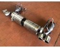 997 Turbo sports exhaust made of stainless steel complete with catalytic converters