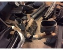 997 Carrera exhaust silencer used with tailpipes