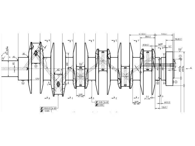 986 - 996 Handbrake lever carbon aluminum Porsche