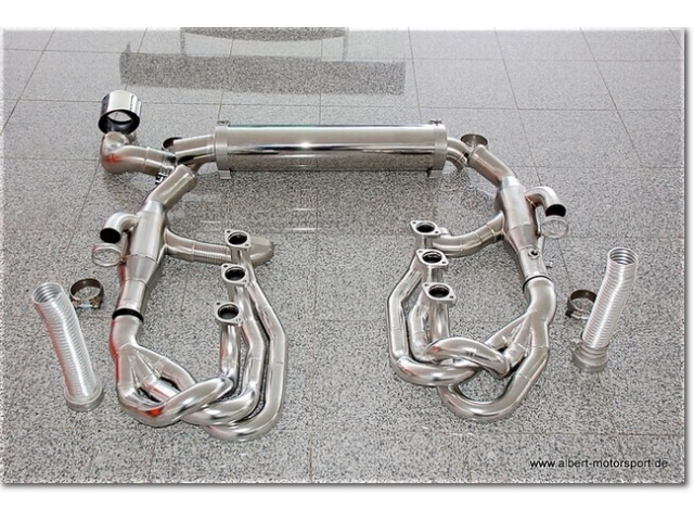 997 GT3 RS sport exhaust system power kit year 2010 - 3,8l - 4,0l for Porsche