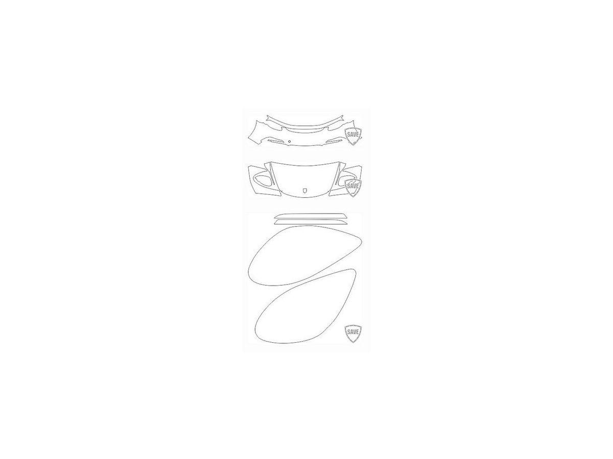718 (982) Boxster GTS 2017-2018 Frontschutz Set