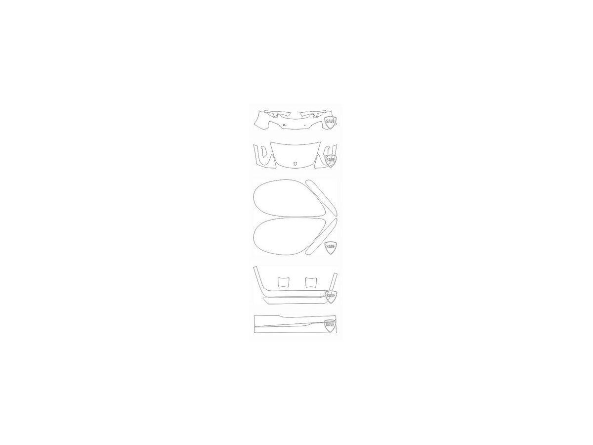 981 Boxster 2011-2016 Frontschutz Set
