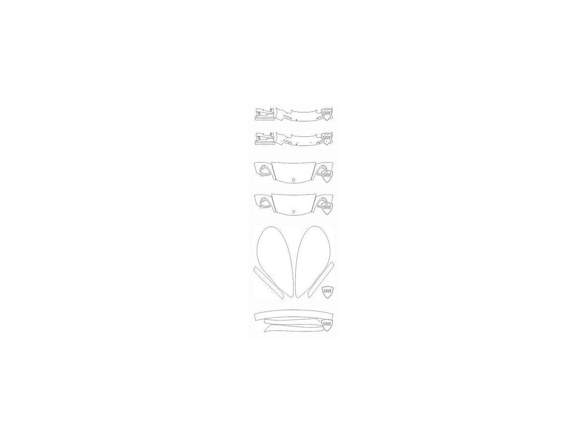 970 Panamera 2013-2015 Frontschutz Set