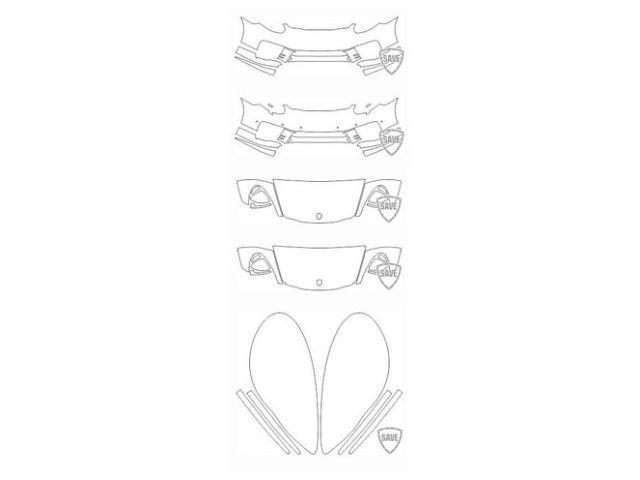 970 GTS - Turbo 2013-2015 Frontschutz Set