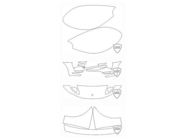 95B Macan Turbo 2014-2018 Frontschutz Set