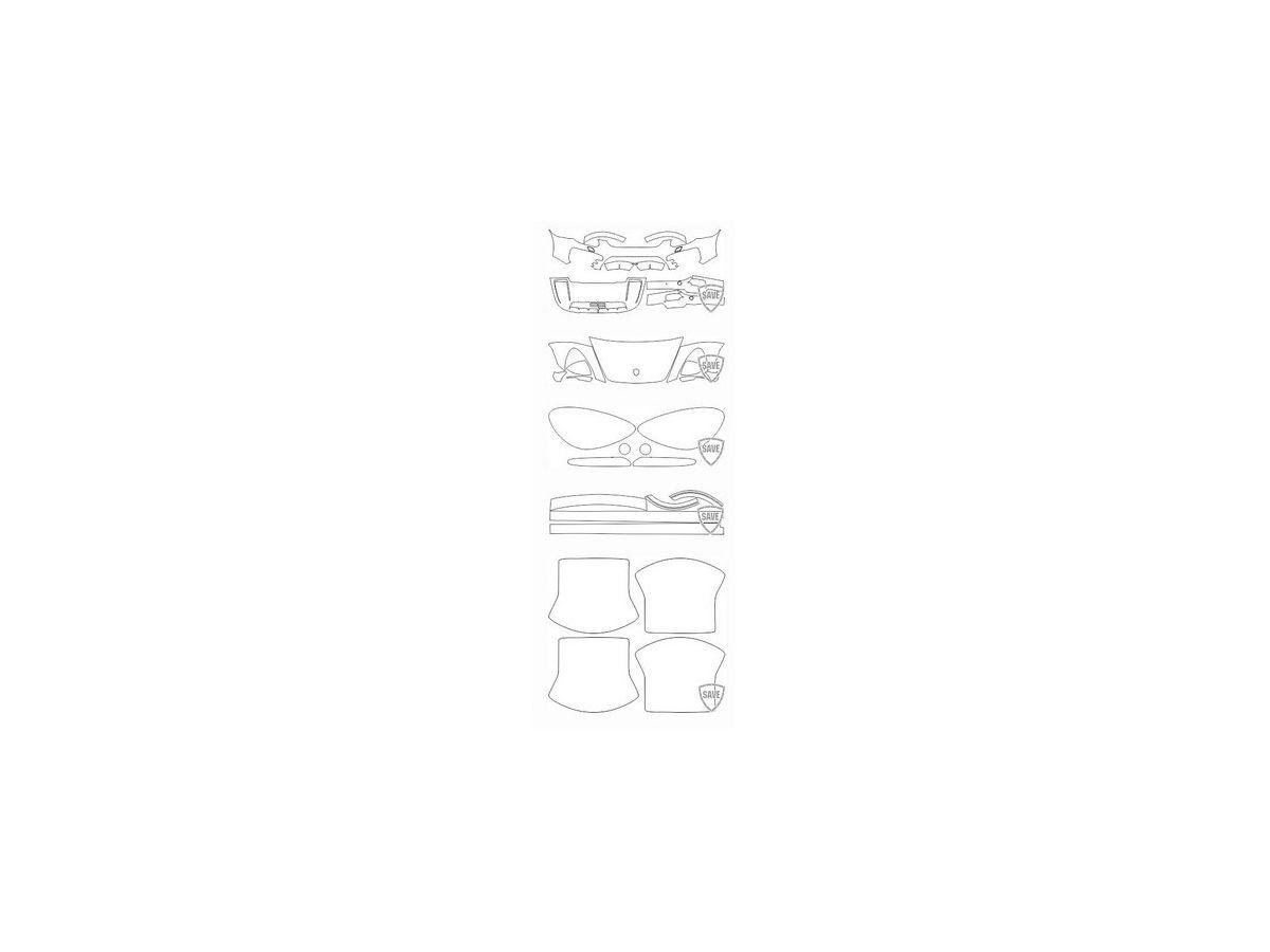 958 Cayenne GTS 2012-2014 Frontschutz Set