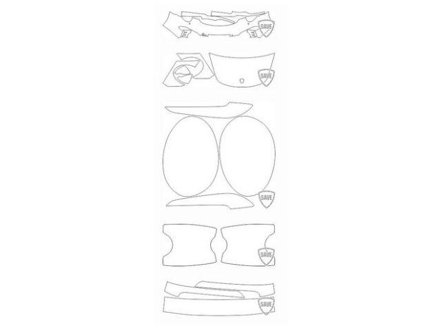 991 Carrera 2011-2015 Frontschutz Set