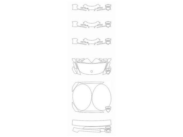 991 GTS Cabrio/Targa 2015-2018 Frontschutz Set