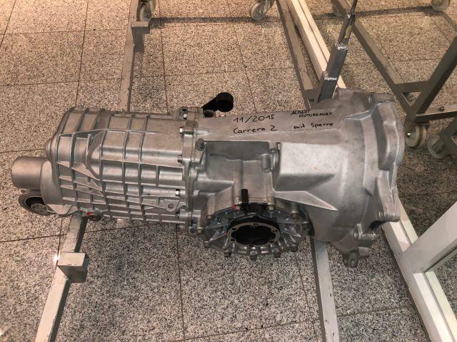 986 Boxster Motorblock mit Albert Motorsport Graphit Zylindern